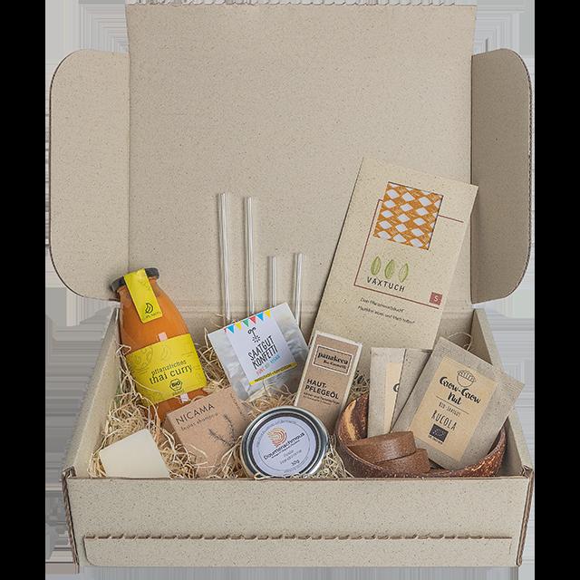 ecogift nachhaltige Geschenkbox